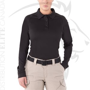 FIRST TACTICAL WOMEN PERFORMANCE POLO LONG SLEEVE