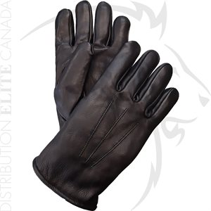 HAKSON 383 WINTER LEATHER DRESS GLOVES WITH THICK WOOL LINING