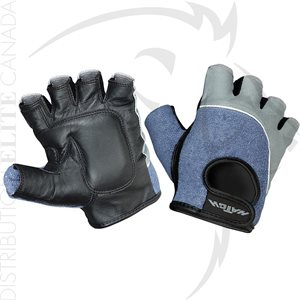 HATCH VGB500 HALF FINGER TERRY BACK GLOVES