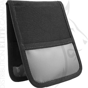HI-TEC 4X5in NOTEPAD COVER W / INNER & OUTER CLEAR POCKETS