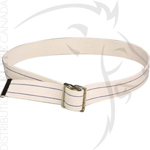 HUMANE RESTRAINT COTTON WEB BELT