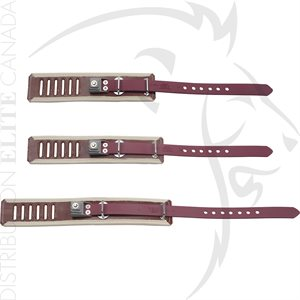 HUMANE RESTRAINT LEATHER LOCKING RESTRAINT