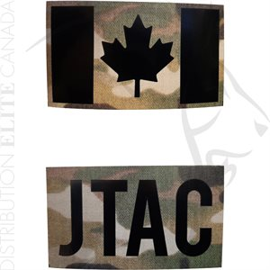 INFRARED ID IR FLAG PATCHES