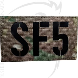 INFRARED ID IR LASER CUT CALLSIGN PATCHES