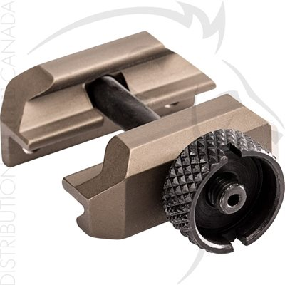 SUREFIRE THUMBSCREW MOUNT ASSEMBLY - MH30 / MH60 BODY - TAN