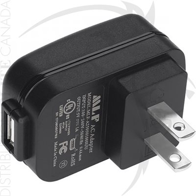 NIGHTSTICK USB TO AC POWER PLUG ADAPTOR - UNITED-STATES