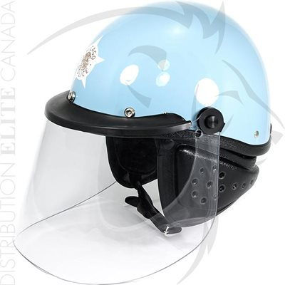 SUPER SEER S1602IV MOTOR HELMET - LIGHT BLUE (CHICAGO)