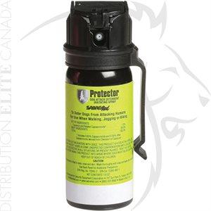SABRE RED 1.33% - MK3 DOG PROTECTOR - W / BELT CLIP