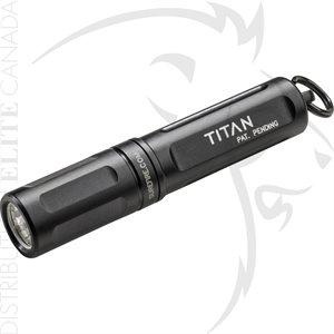 SUREFIRE TITAN-A COMPACT LIGHT 15 / 125 LUMENS ALUM - BLACK