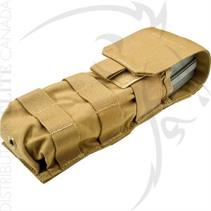 SUREFIRE MOLLE POUCH MAG5-60 BERRY AMEND COMPLIANT - COYOTE