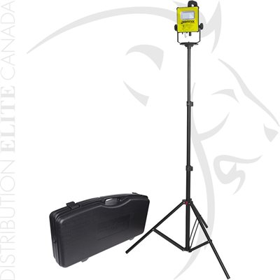 NIGHTSTICK IS RECHARGEABLE LED SCENE LIGHT KIT W / STAND - GRN