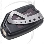 SUREFIRE BELT CLIP FOR SIDEKICK - STAINLESS STEEL