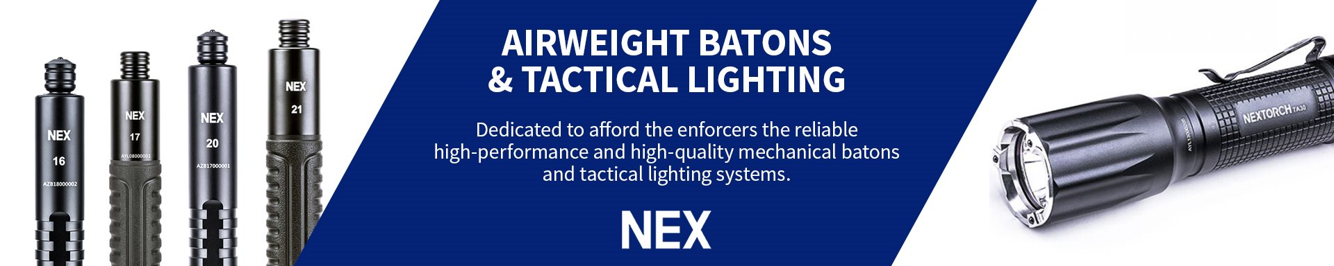 Nex - Batons and Lighting