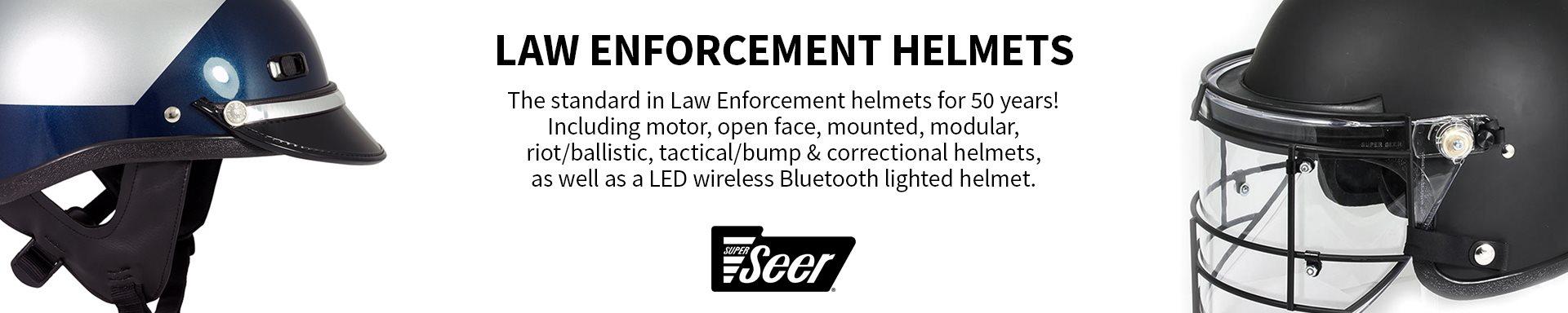 Super Seer - Law Enforcement Helmets
