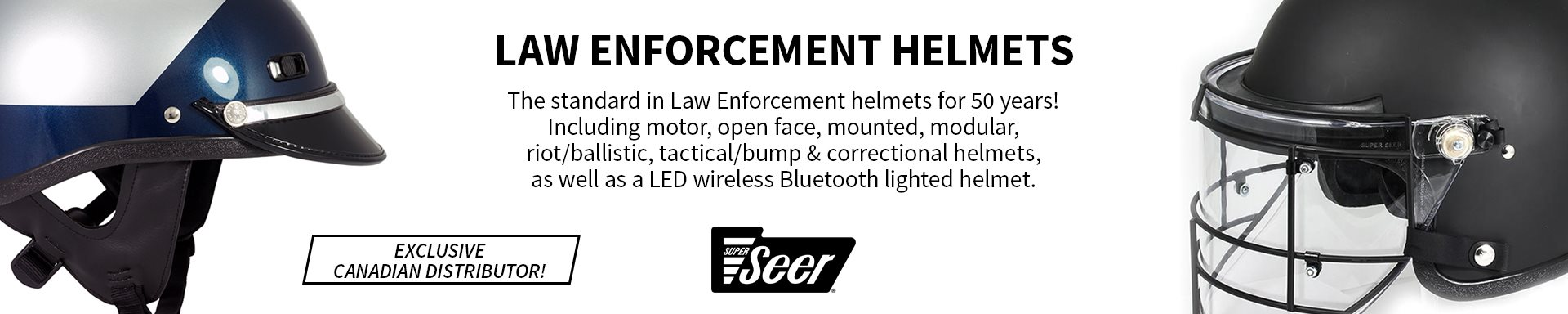 Super Seer - Law Enforcement Helmets
