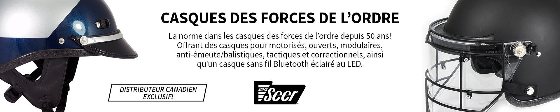 Super Seer - Casques des forces de l'ordre